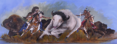Warriors' Desire To Catch The Spirit Of The White Buffalo